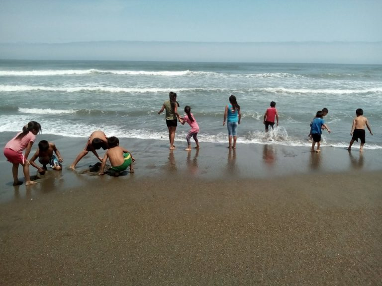 Children's Day at the beach