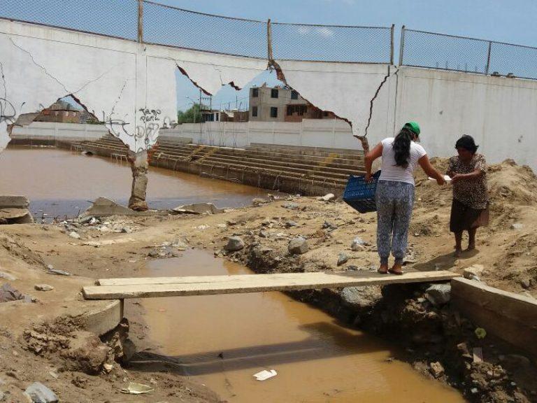 Perú ayuda inundación